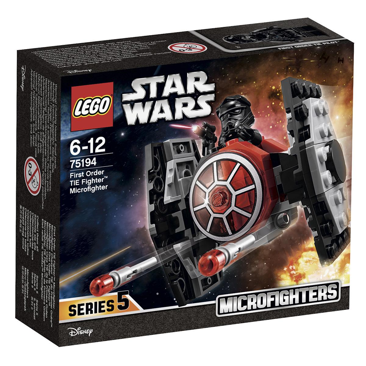 Image of   LEGO Star Wars Den første Ordens TIE-jager