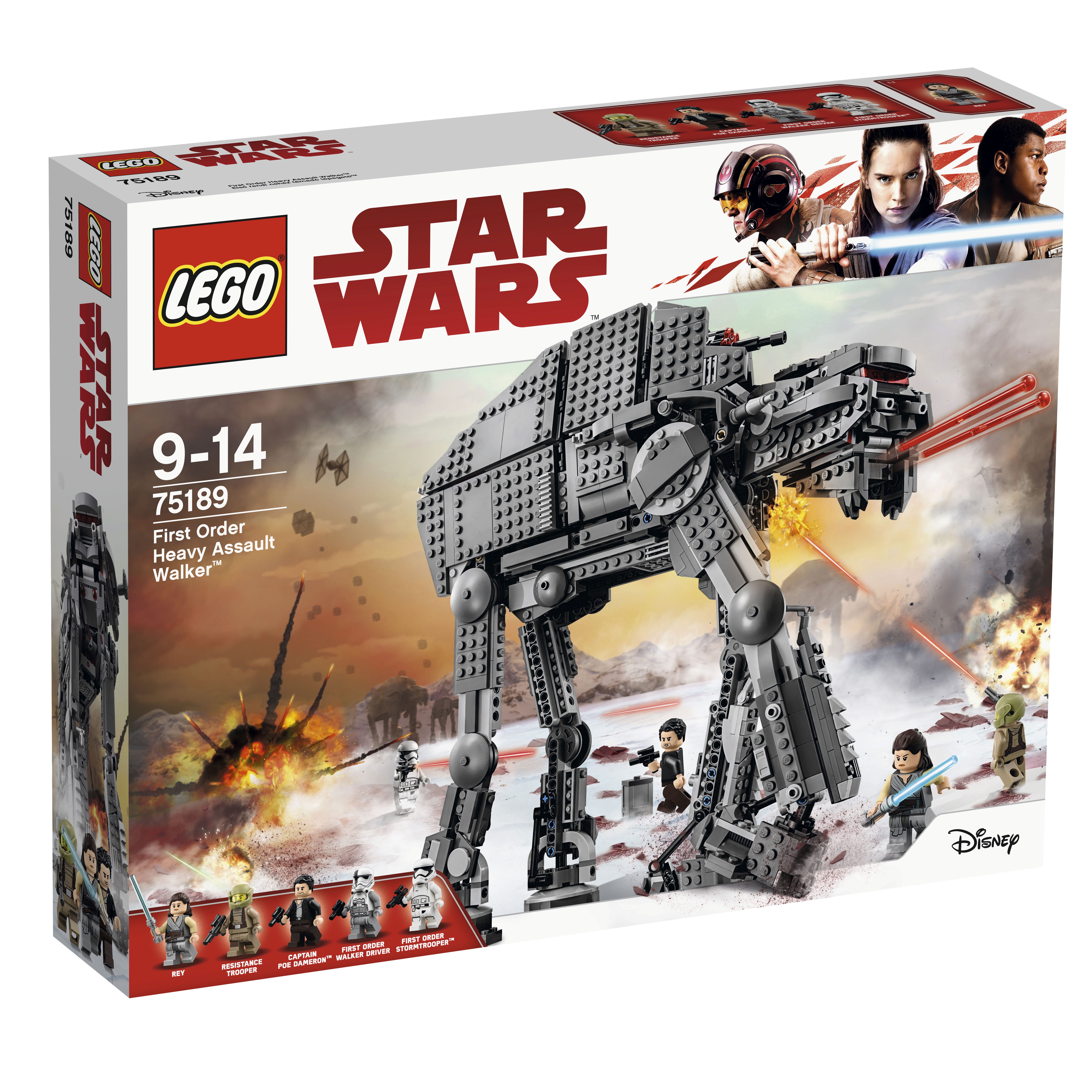 Image of   LEGO Star Wars First Order Heavy Assault Walker