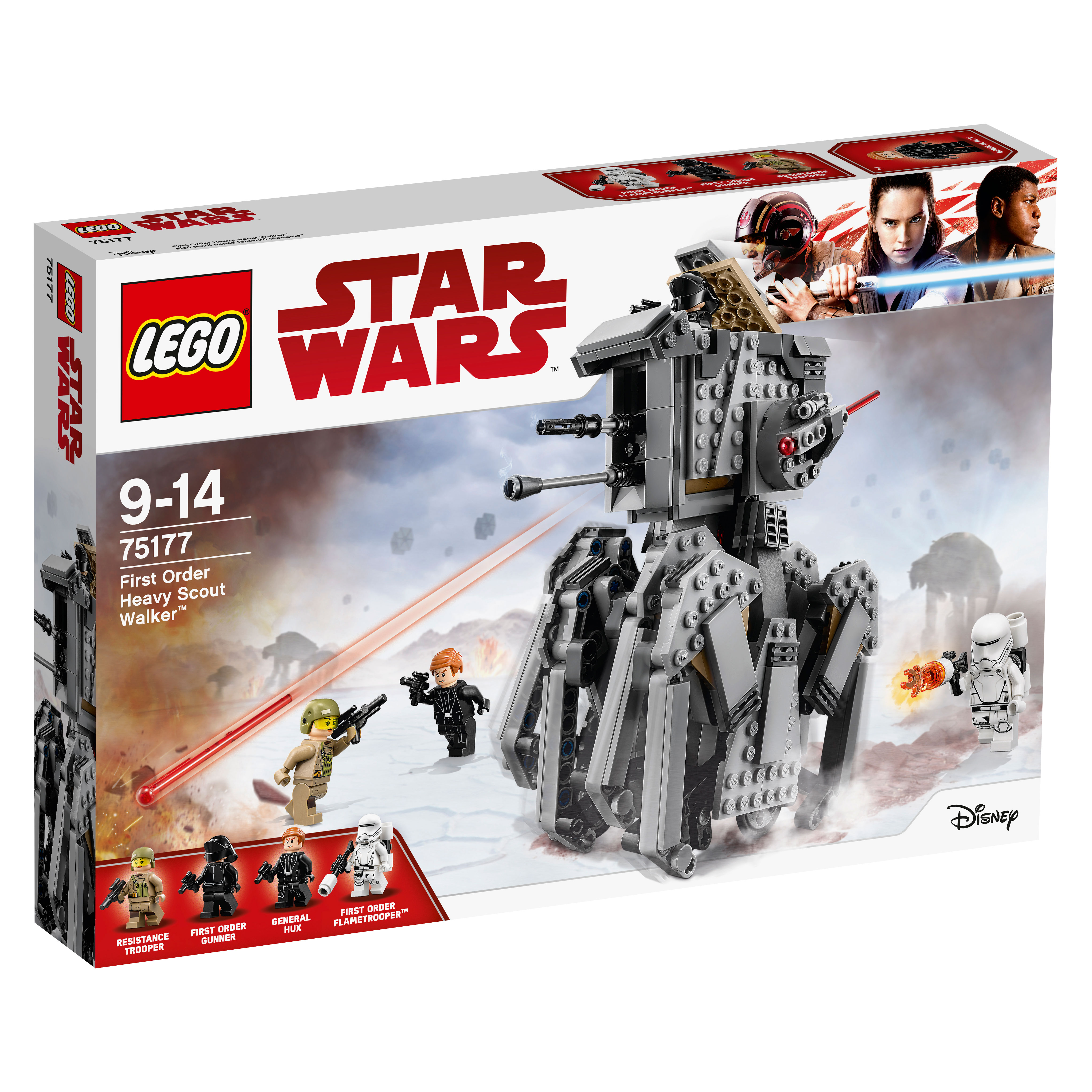 Image of   LEGO Star Wars First Order Heavy Scout Walker