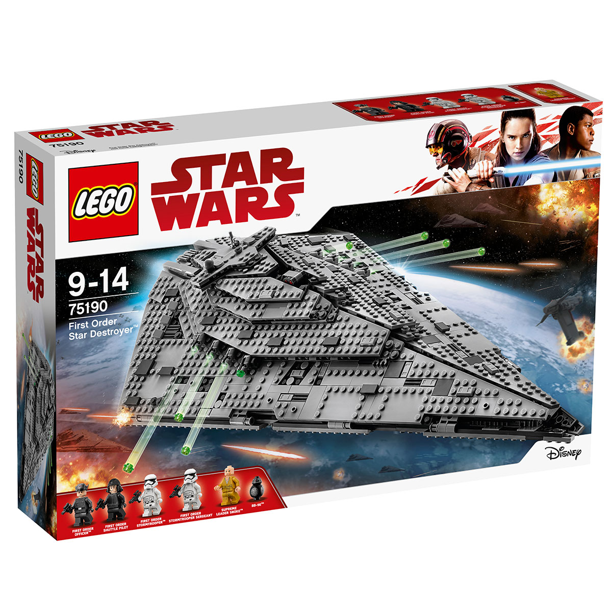 Image of   LEGO Star Wars First Order Star Destroyer