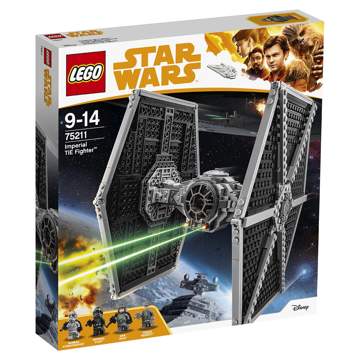 Image of   LEGO Star Wars Kejserlig TIE-jager