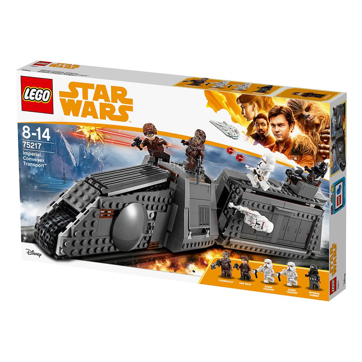 Image of   LEGO Star Wars Kejserligt conveyextog