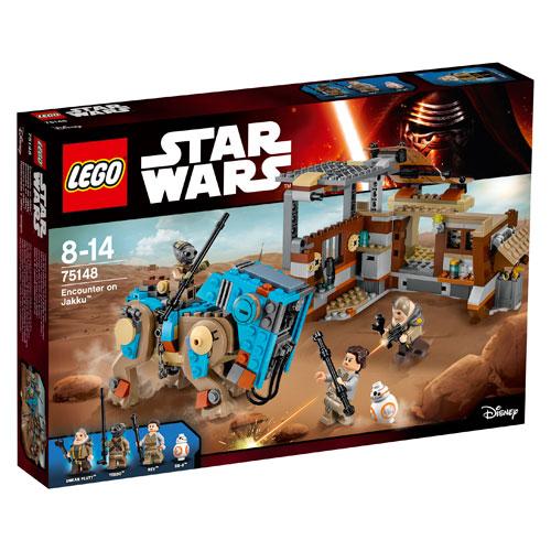 Image of   LEGO Star Wars Mødet på Jakku
