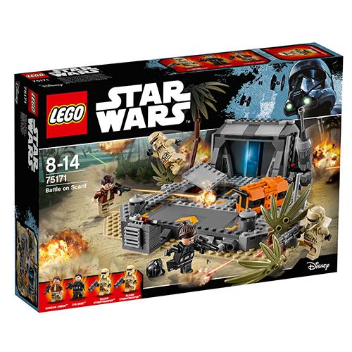 Image of   LEGO Star Wars Slaget på Scarif