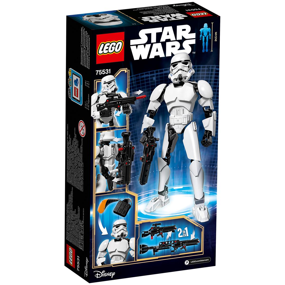 Image of   LEGO Star Wars Stormtrooper kommandør