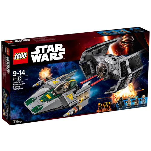 Image of   LEGO Star Wars Vaders TIE Advanced mod A-wing Starfighter