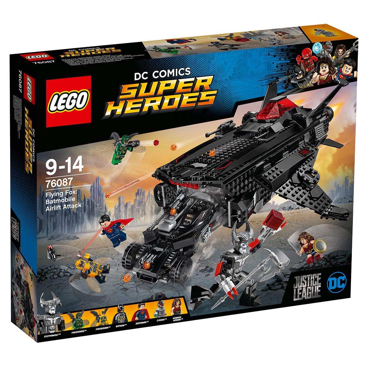 LEGO Super Heroes Flying Fox: Flyvende batmobilangreb