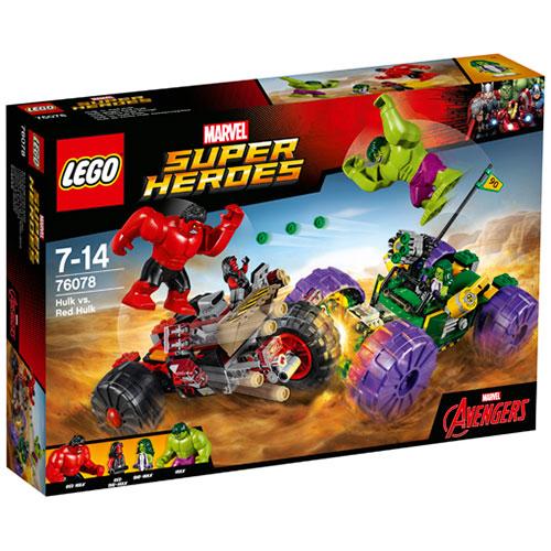 Image of   LEGO Super Heroes Hulk mod Red Hulk