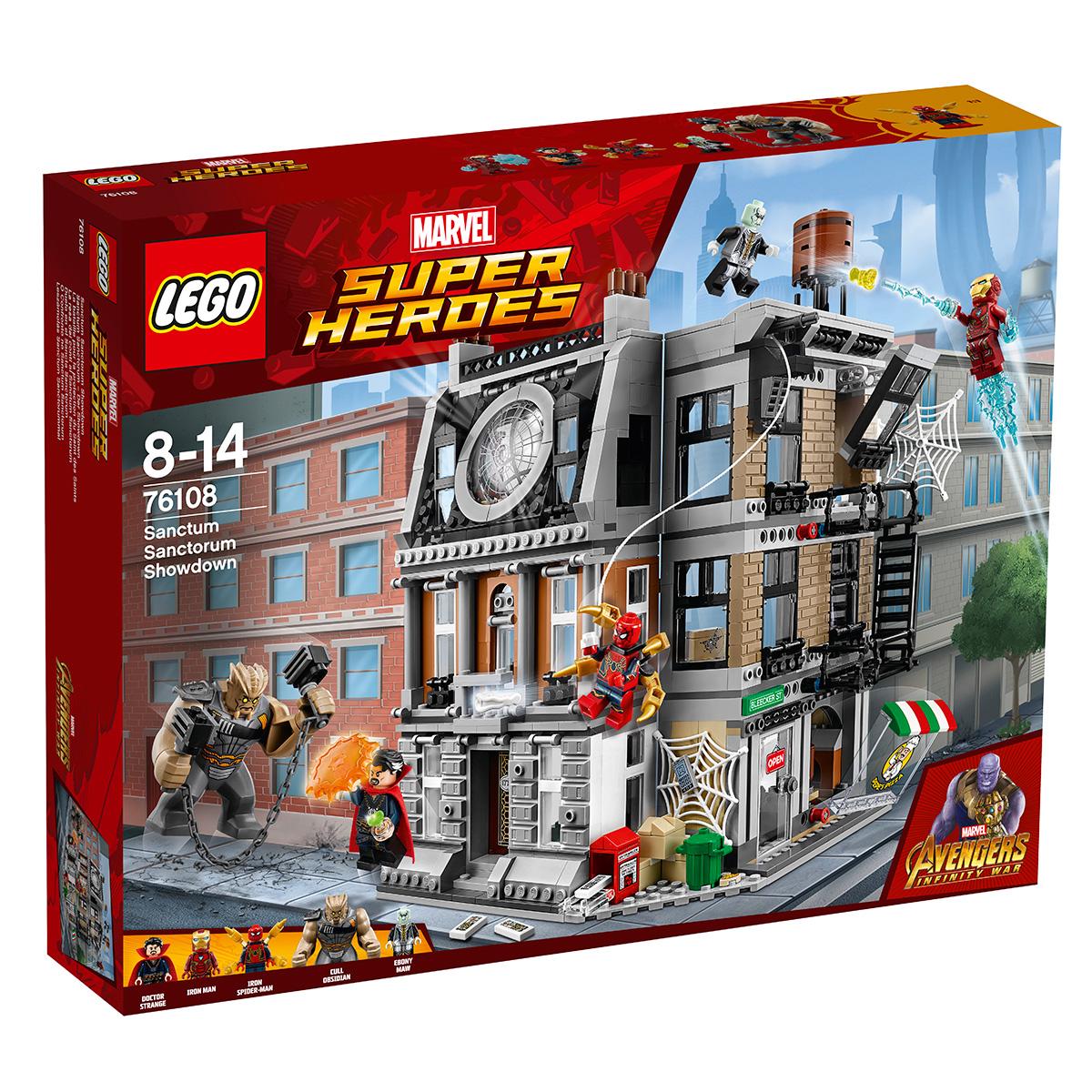 LEGO Super Heroes opgør i Doktor Stranges allerhelligste