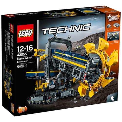 LEGO Technic gravemaskine med skovlhjul