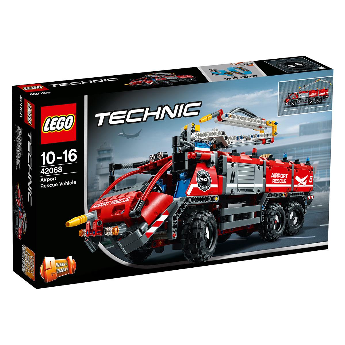 LEGO Technic Lufthavnsredningsvogn