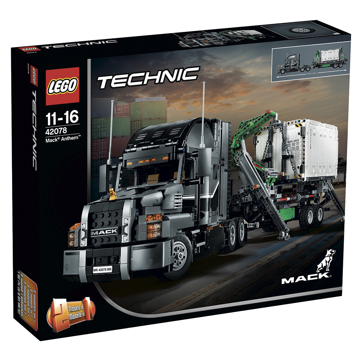 Image of   LEGO Technic Mack Anthem
