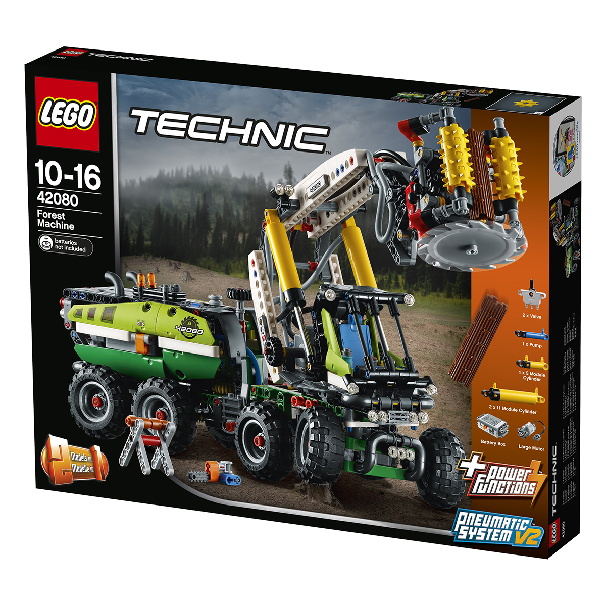 LEGO Technic Skovmaskine