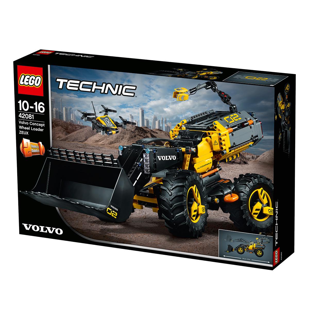 LEGO Technic Volvo konceptkøretøj - Gummiged ZEUX