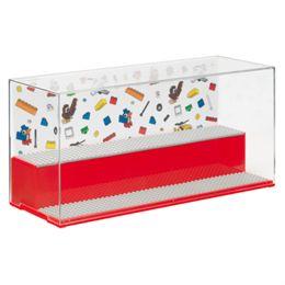 LEGO udstillingsmontre – Play & Display – Rød