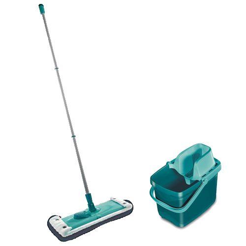Leifheit combi clean sæt Med gulvvasker og spand med vrider - Coop.dk