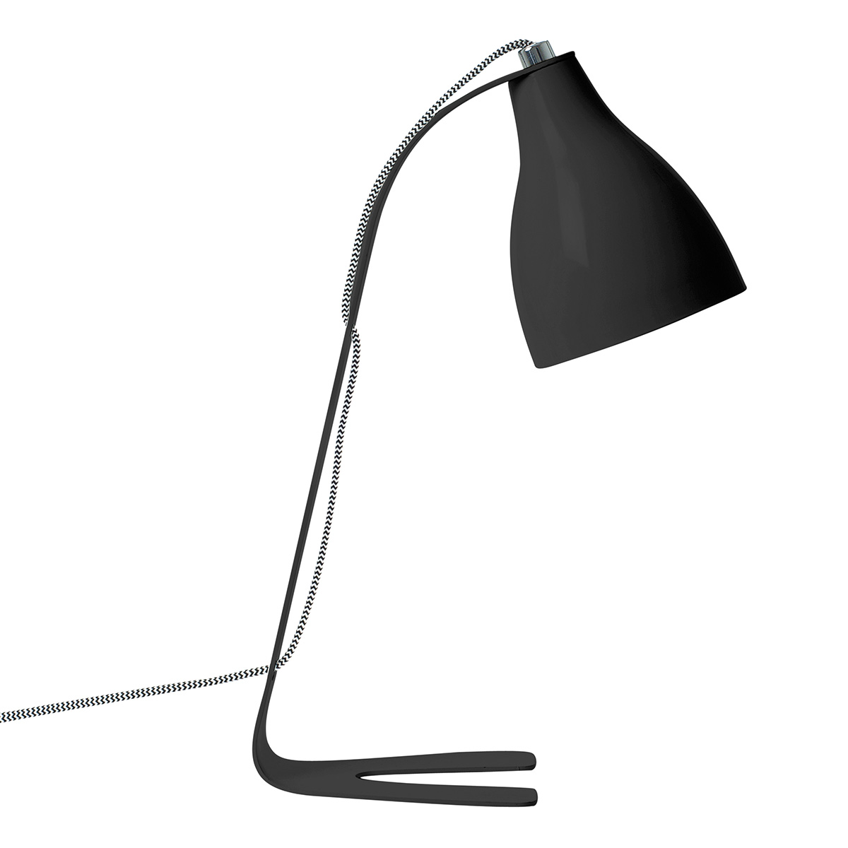 Image of   Leitmotiv bordlampe - Barefoot - LM1126 - Mat sort