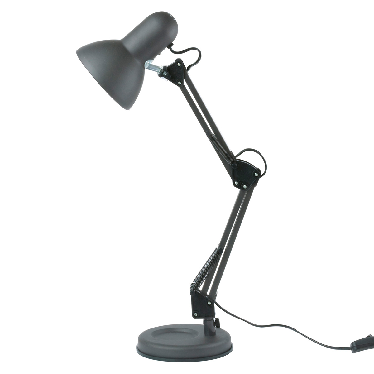 Leitmotiv bordlampe - Hobby - LM672 - Sort H 55 cm - Fineste arkitektlampe i metal - Bøjer i to led