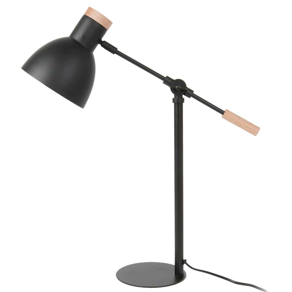 Image of   Leitmotiv bordlampe - Stark - LM1283 - Sort