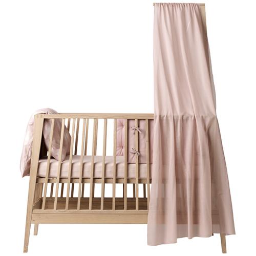 Linea by Leander sengehimmel og himmelpind - Soft pink