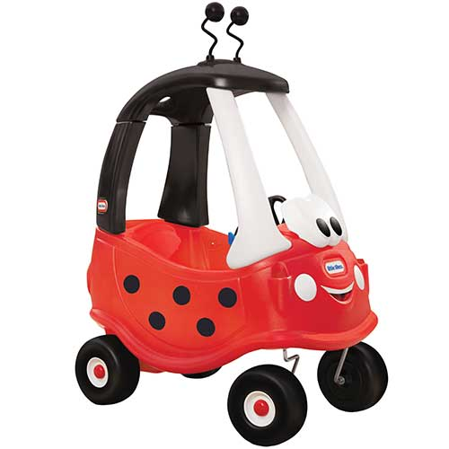 Little Tikes gåbil Cozy Coupe mariehøne med båthorn