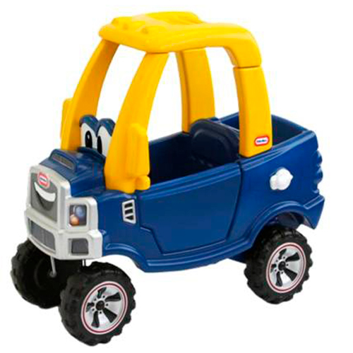 Image of   Little Tikes gåbil - Cozy Coupe - Truck - Blå