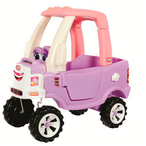 Image of   Little Tikes gåbil - Cozy Coupe - Truck - Lyserød