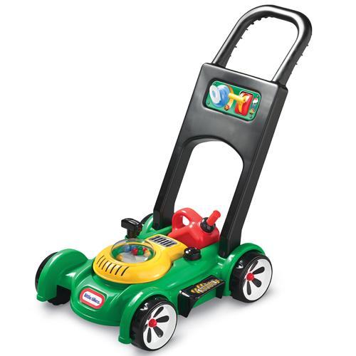 Image of   Little Tikes græsslåmaskine med benzindunk