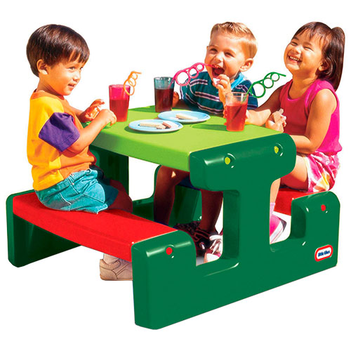 Image of   Little Tikes picnicbord