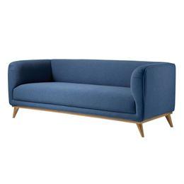 Image of   Living&more 3 pers. sofa - Saga - Blå