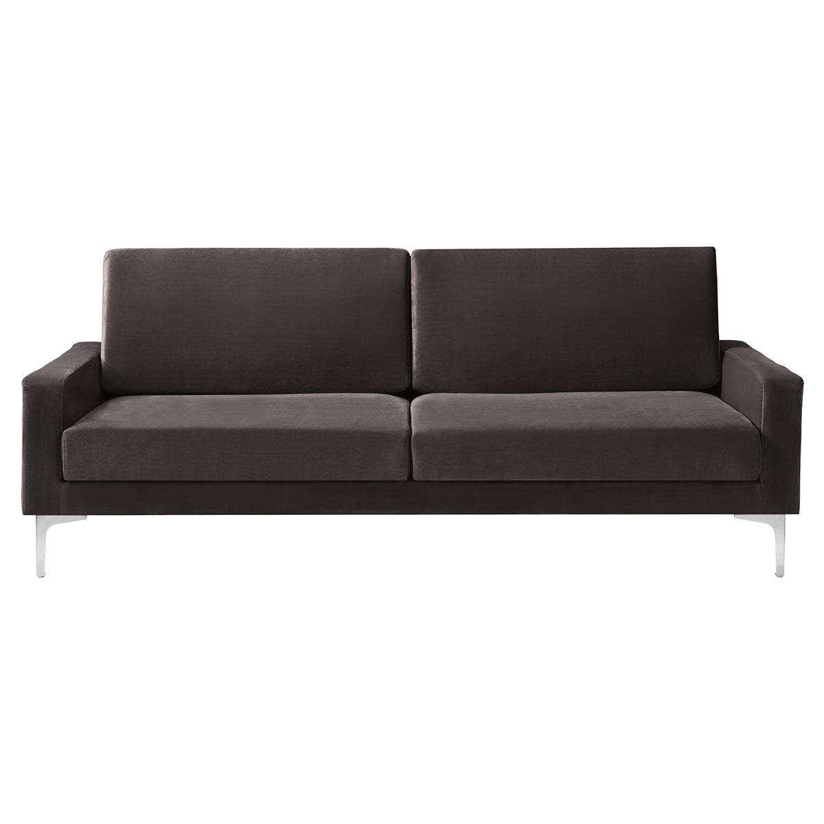 Living&more 3 pers. sofa - Viktoria - Brun