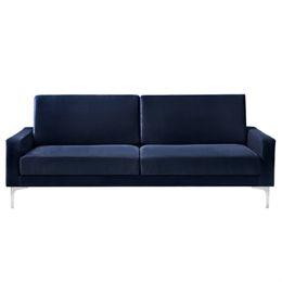 Image of   Living&more 3 pers. sofa - Viktoria - Mørkeblå
