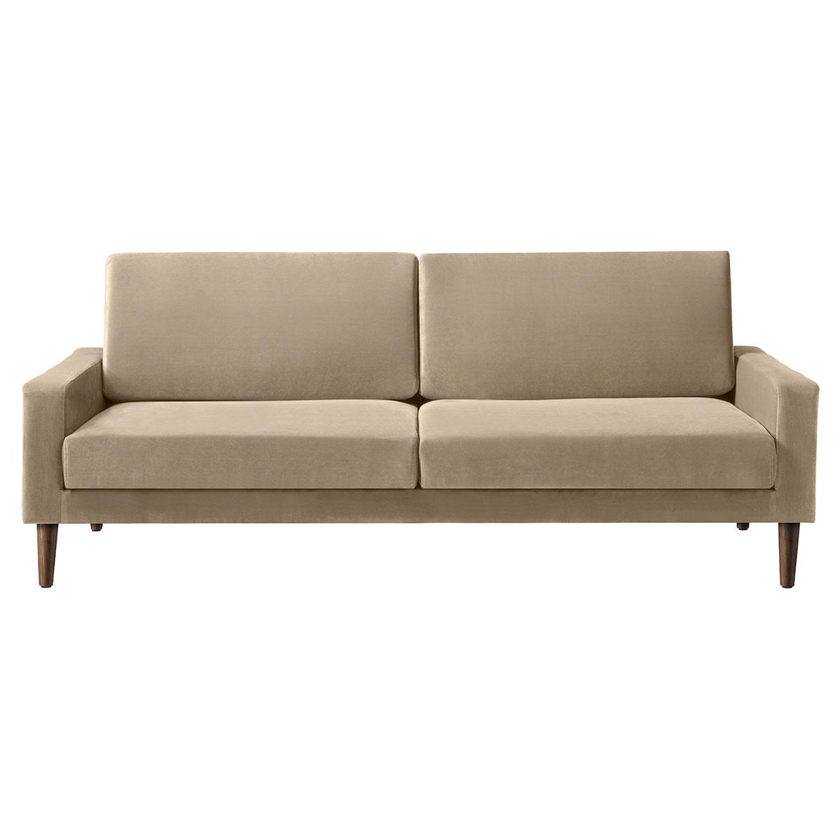 Living&more 3 pers. sofa - Viktoria - Sand