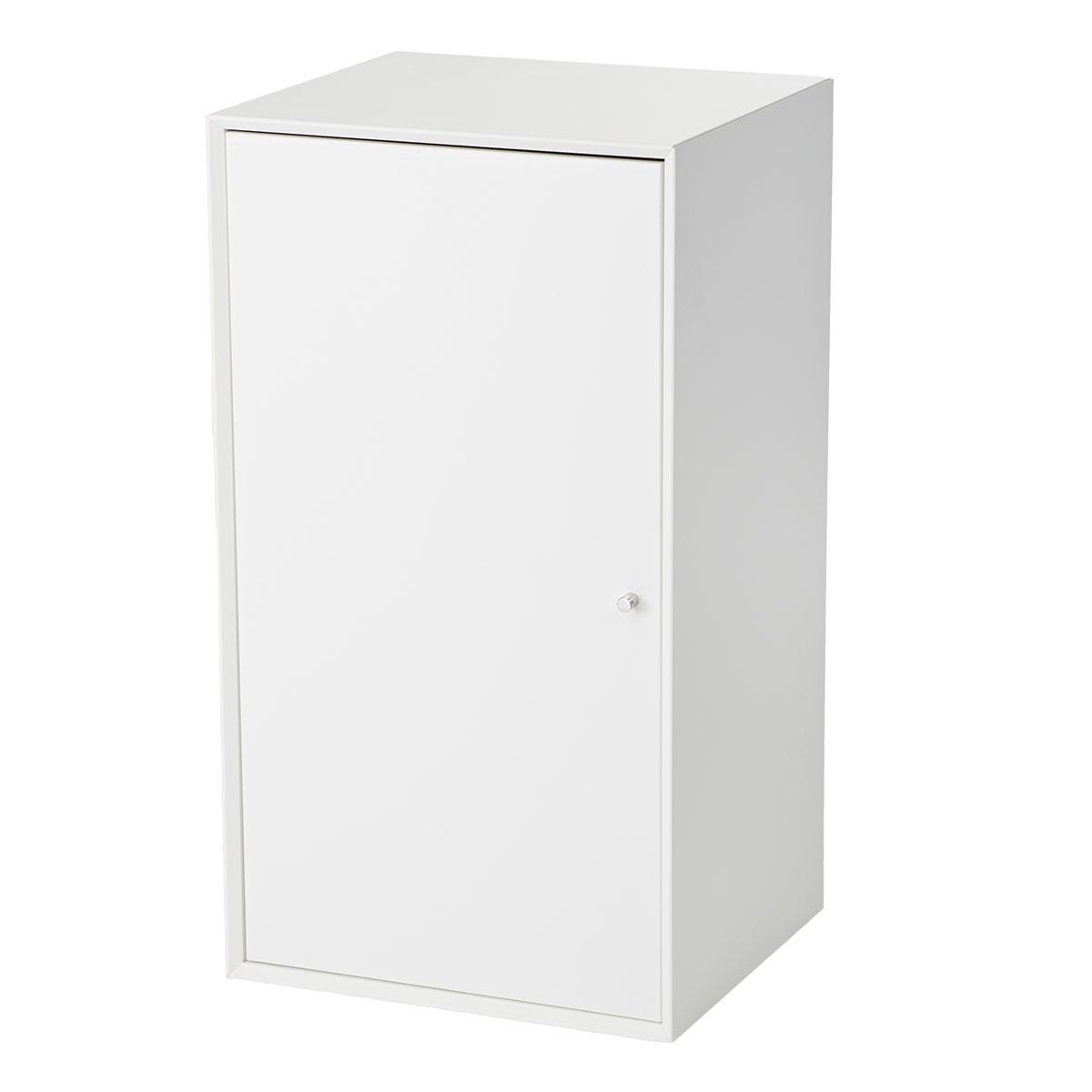 Living&more skab - The Box - 71,2 x 39,4 x 34 cm - Hvid