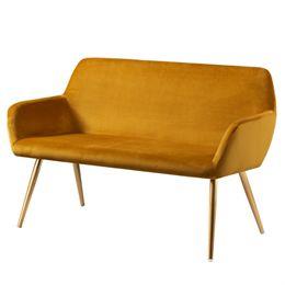 Image of   Living&more sofa - Emma - Mustard