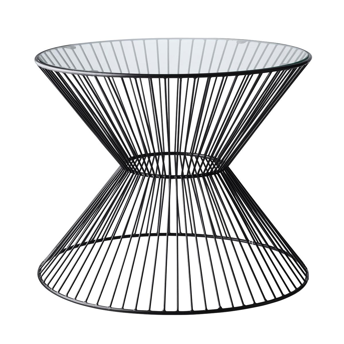 Billede af Living&more sofabord - Herla - Glas/aluminium