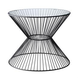 Living&more sofabord - Herla - Glas/aluminium