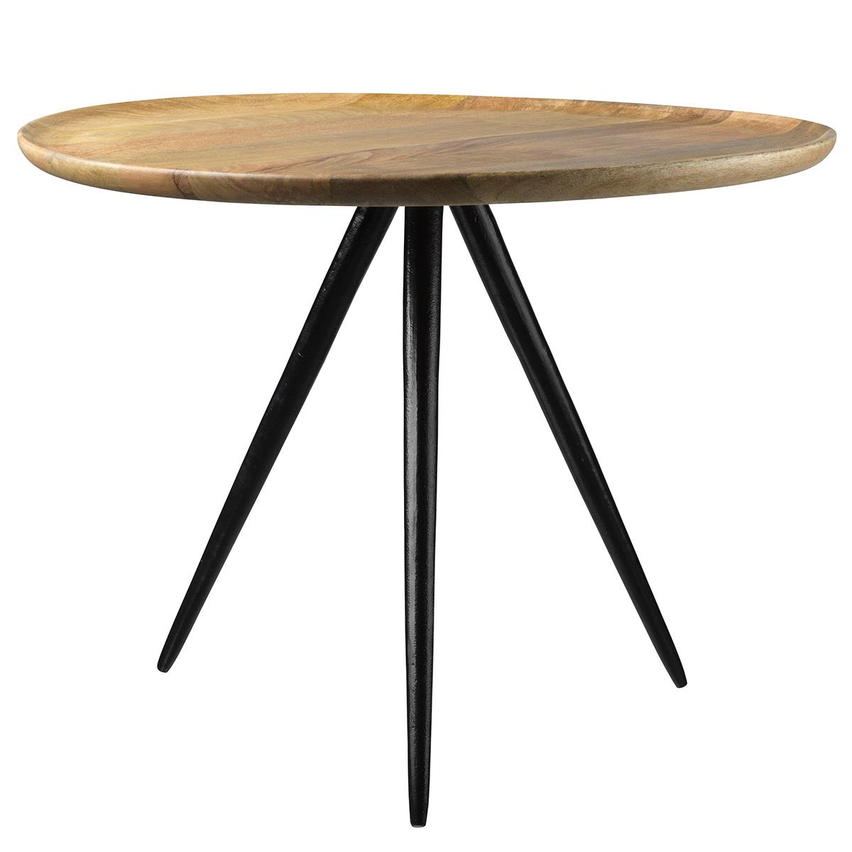 Billede af Living&more sofabord - Palma - Mangotræ/aluminium