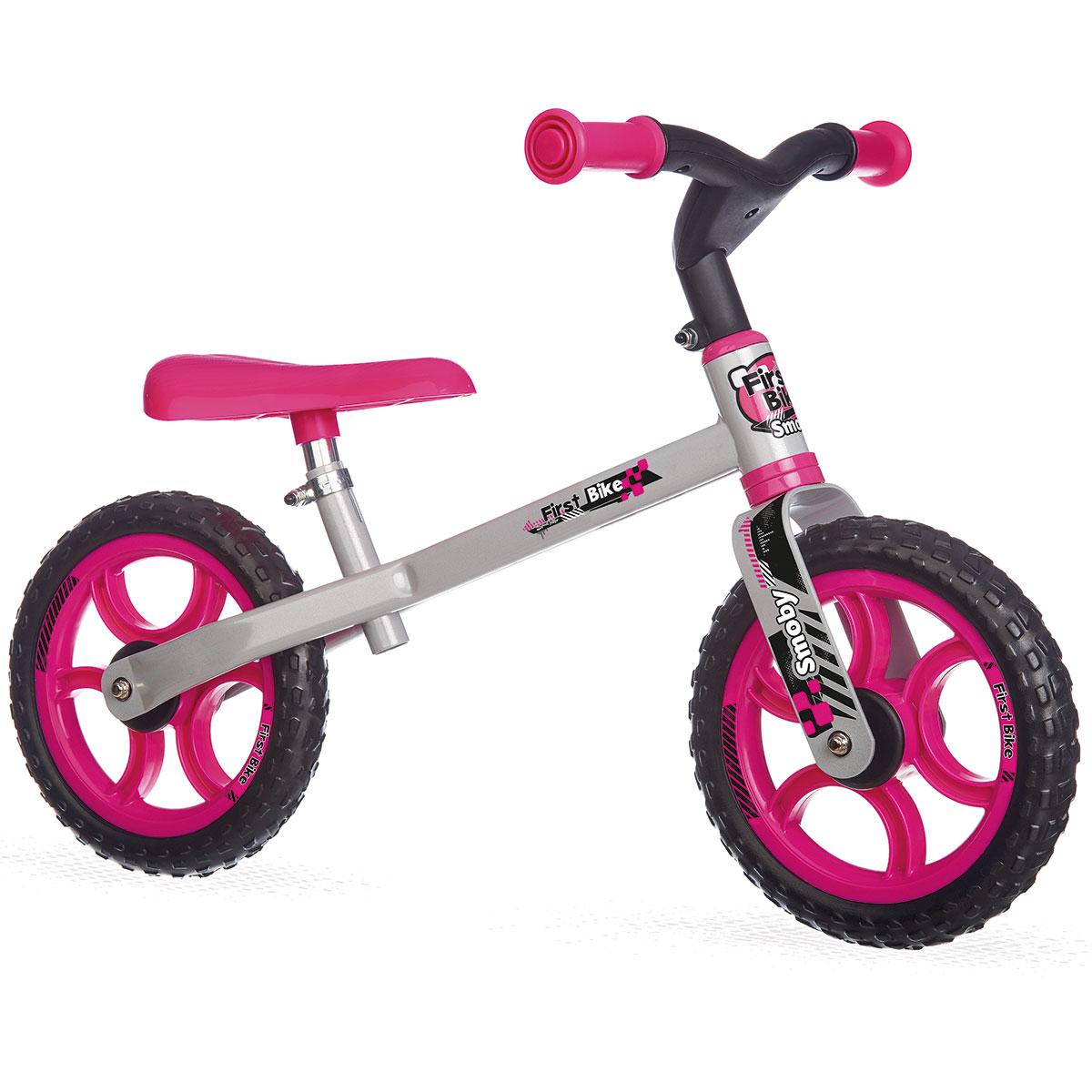 Billede af Løbecykel - Smoby - Pink
