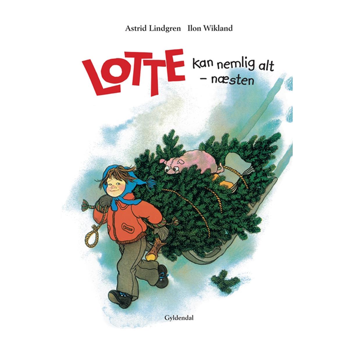 Image of   Lotte kan nemlig alt - næsten - Indbundet
