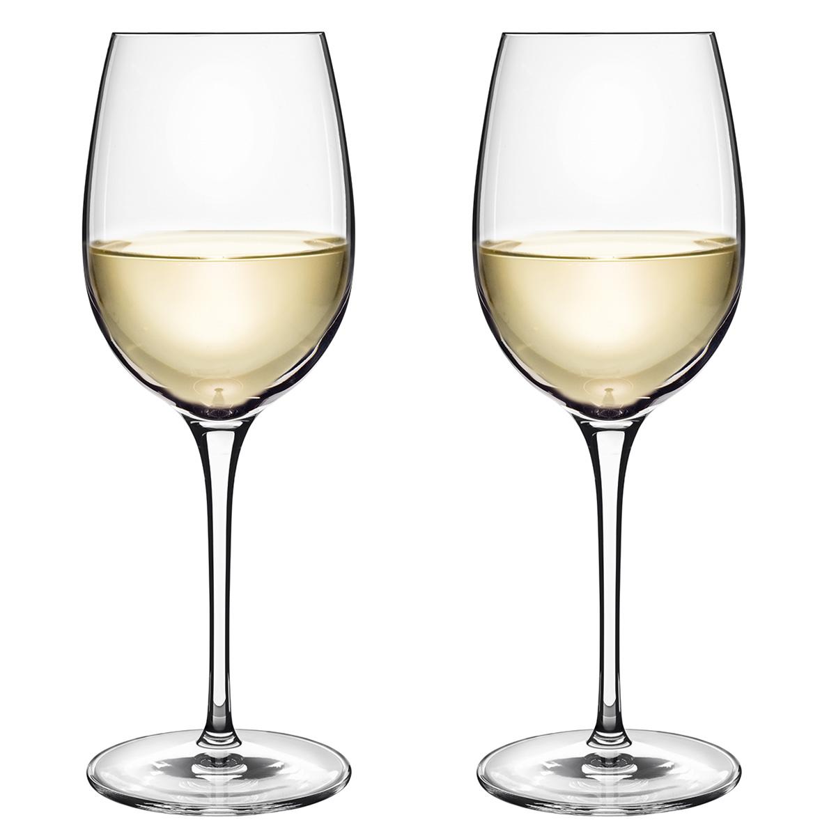 Image of   Luigi Bormioli hvidvinsglas - Vinoteque fragrante - 2 stk.
