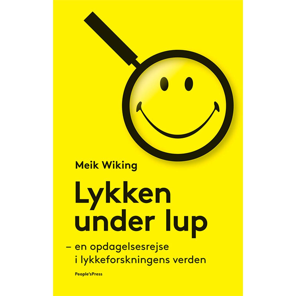 Image of   Lykken under lup - Indbundet
