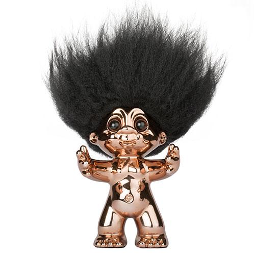 Lykketrold - Bronze - 9 cm