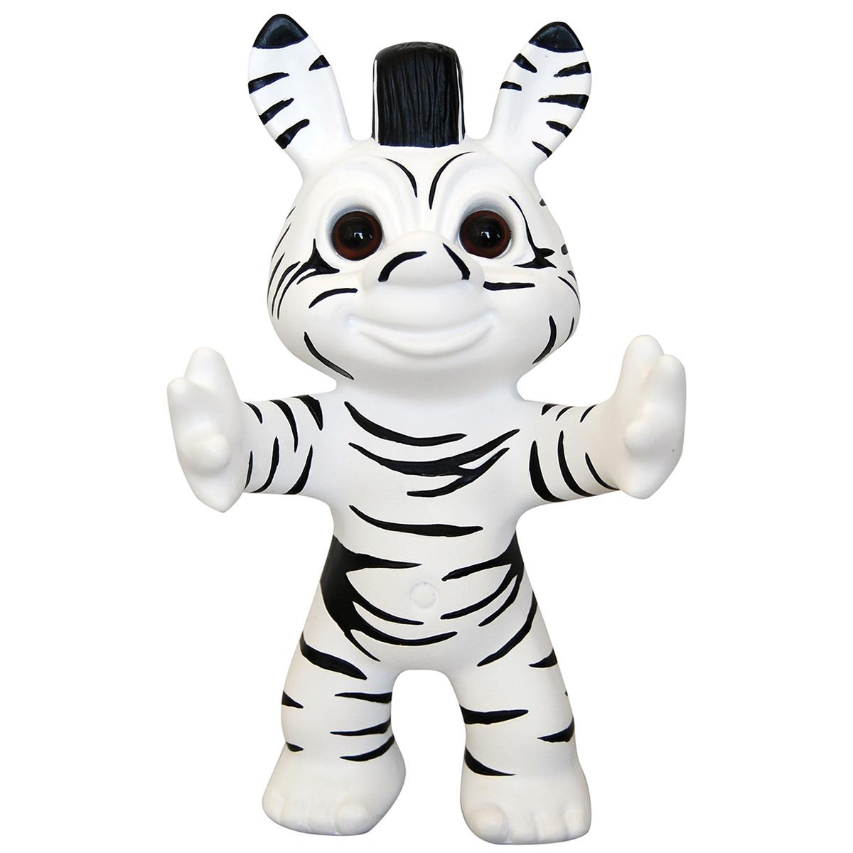 Lykketrold - Zebra Trold