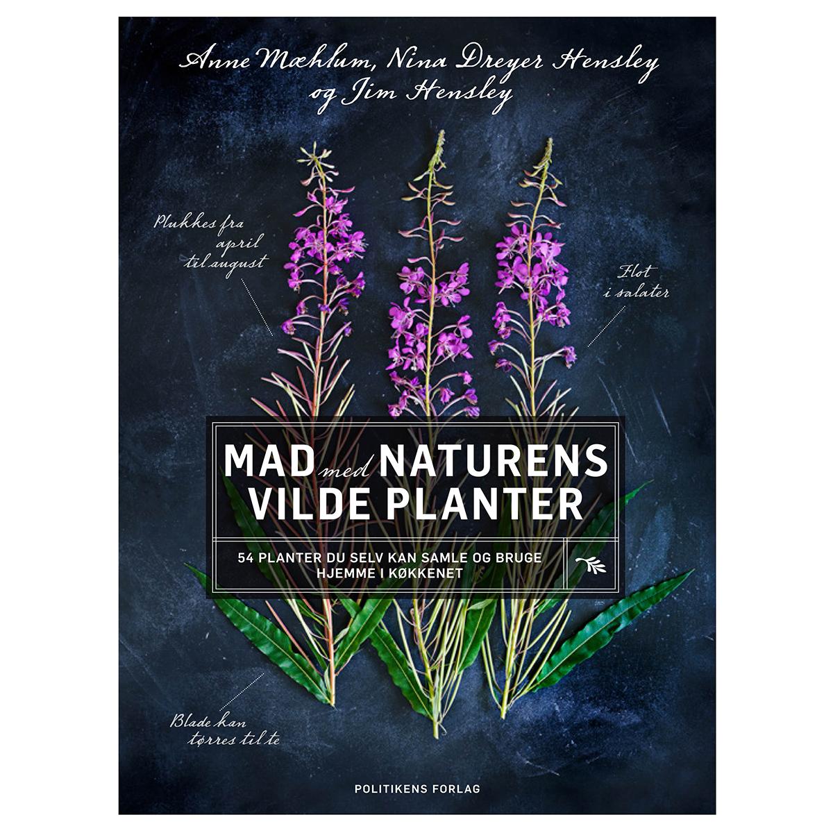 Image of   Mad med naturens vilde planter - Indbundet