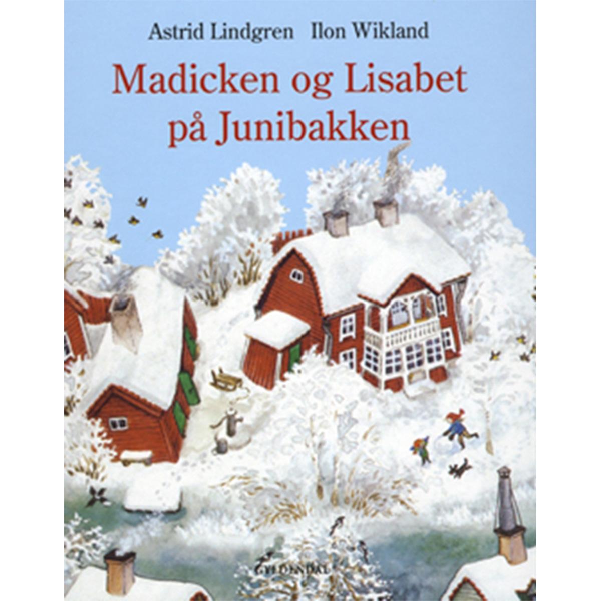 Madicken og Lisabet på Junibakken - Indbundet