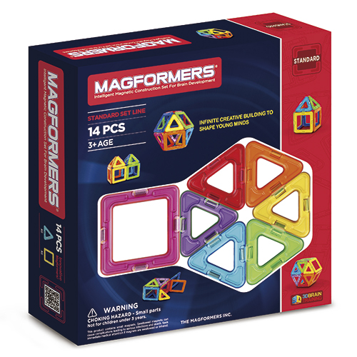 Image of   Magformers - 14 dele
