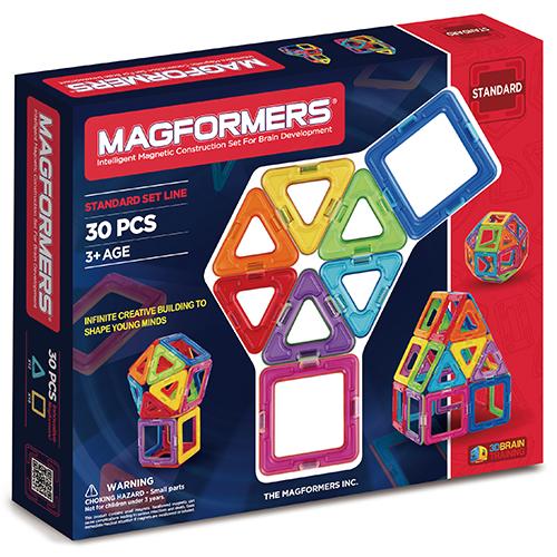 Image of   Magformers byggesæt - 30 dele