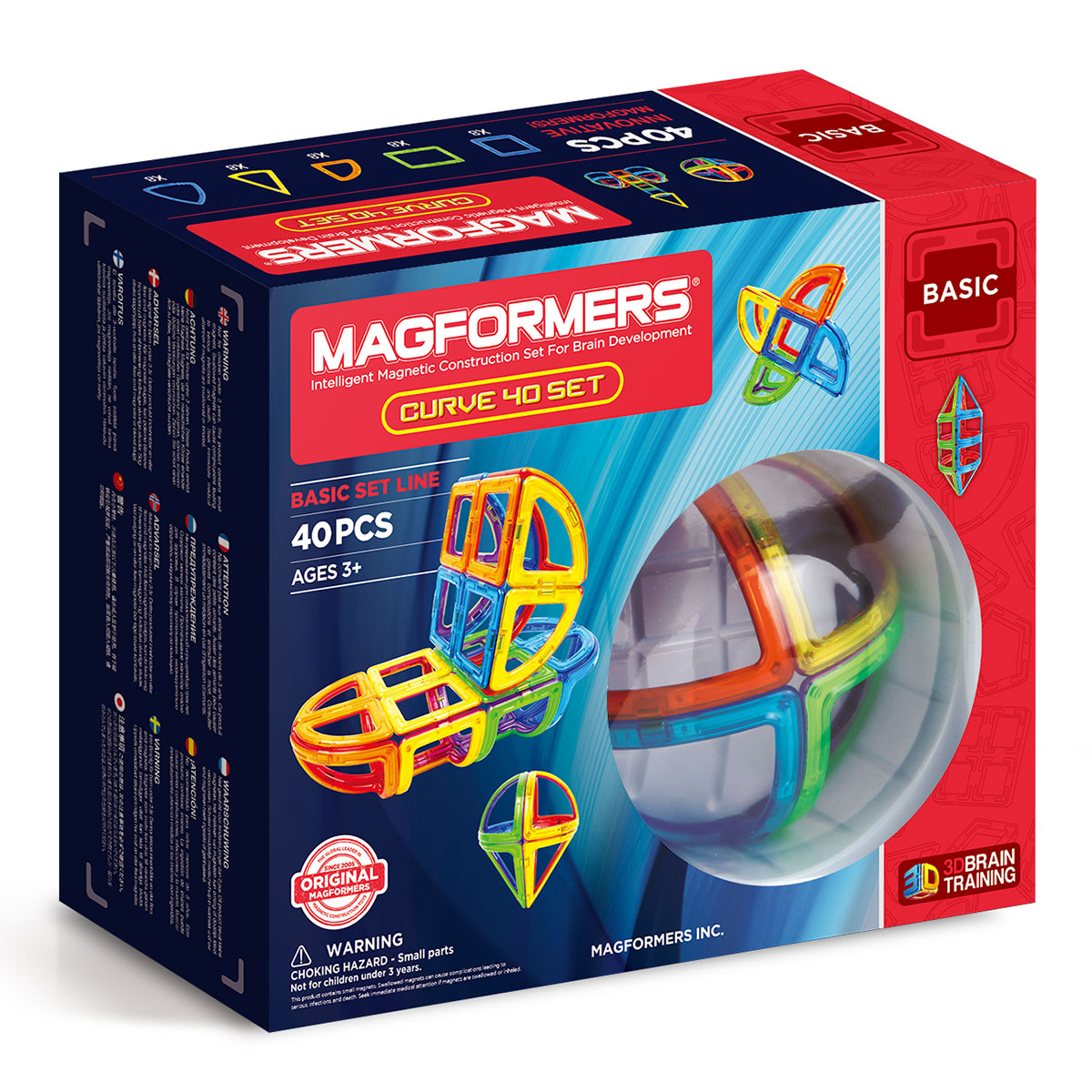 Image of   Magformers - Curve - 40 dele