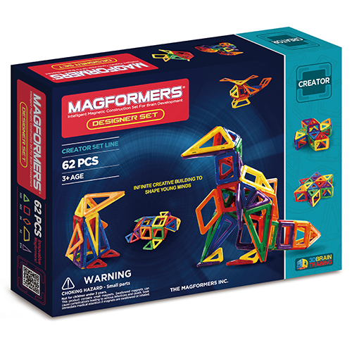 Image of   Magformers Designer set - 62 dele